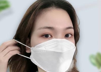 FFP2 Maske in 3D-Form mit Ohrbändern