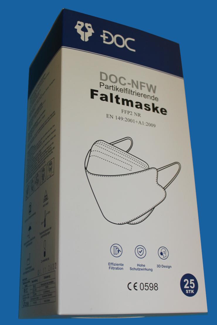 FFP2 Maske mit Ohrband