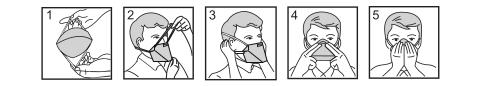 Aufsetzanleitung Maske mit Kopfband