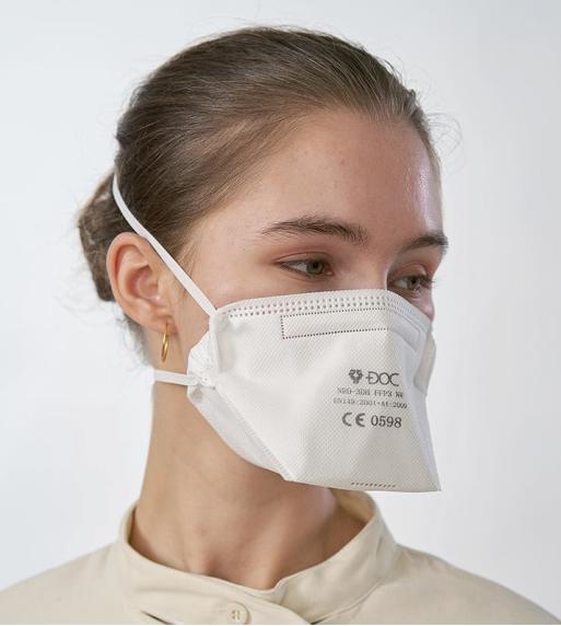 FFP3 Maske mit Kopfbändern