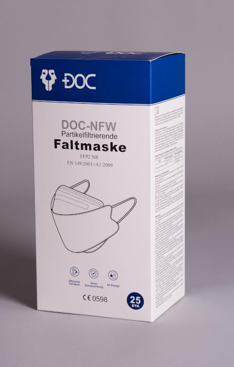 DOC-NFW FFP2 Maske mit Ohrband
